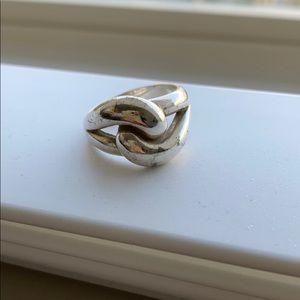 James Avery Cadena Knot Ring Sz 6